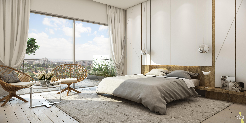 חדר שינה פנטהאוז